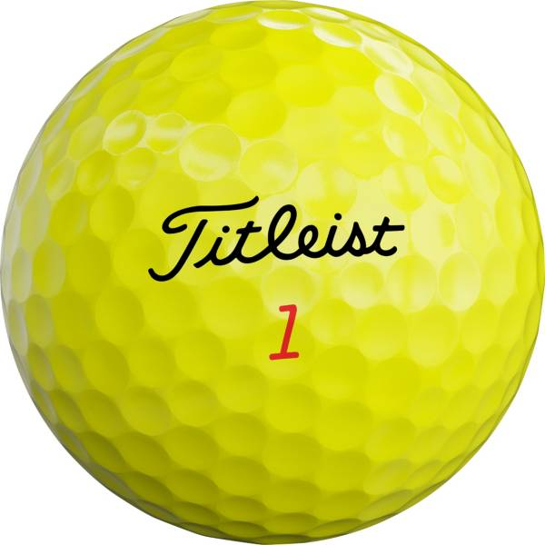 Titleist 2019 TruFeel Yellow Golf Balls product image