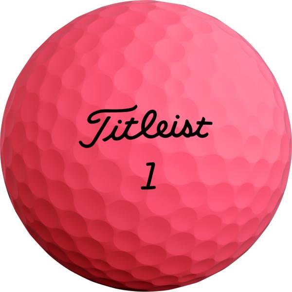 Titleist 2020 Velocity Matte Pink Golf Balls product image