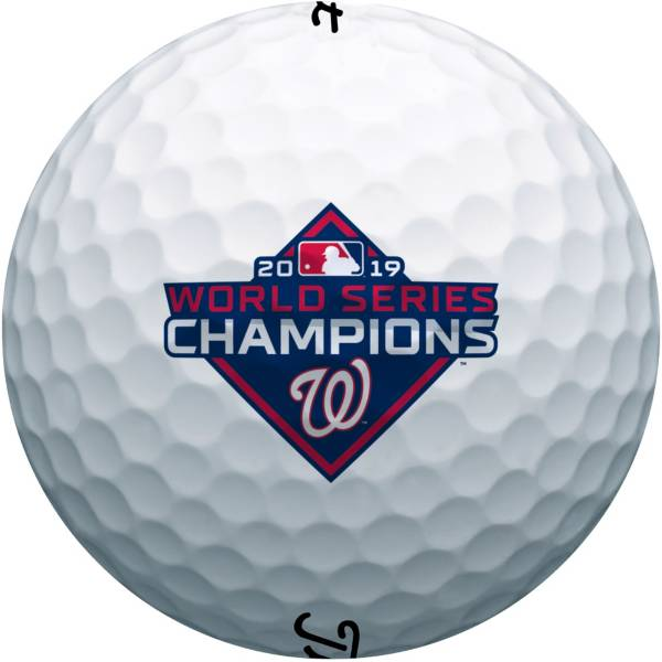 Titleist Pro V1 Golf Balls - 2019 World Series Champions Washington Nationals Special Edition product image