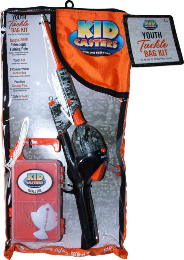 Kid Casters Orange Edition Complete Fishing Kit product image