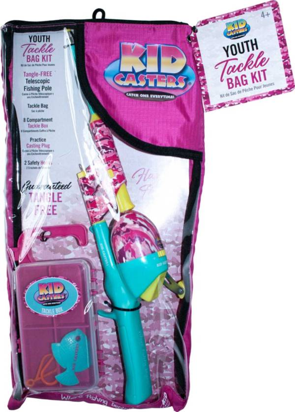 The Kid Casters Pink Edition Complete Fishing Kit product image