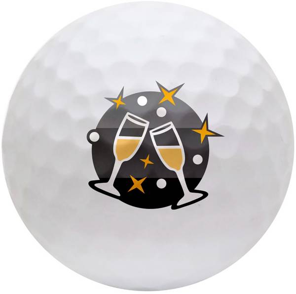 TaylorMade 2019 TP5 Holiday Novelty Golf Balls product image