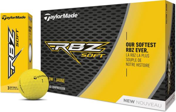 TaylorMade 2019 RBZ Soft Yellow Golf Balls product image