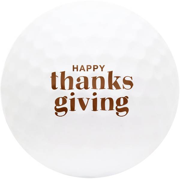 TaylorMade 2019 TP5 Thanksgiving Novelty Golf Balls product image