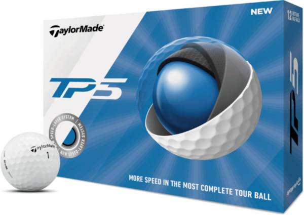 TaylorMade 2019 TP5 Golf Balls product image