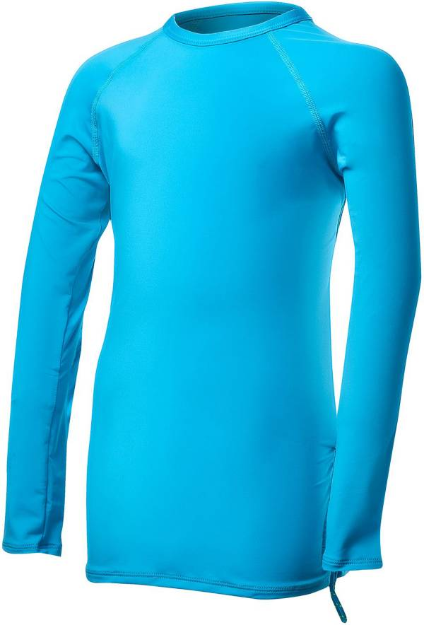TYR Girls' Solid Long Sleeve Rash Guard product image