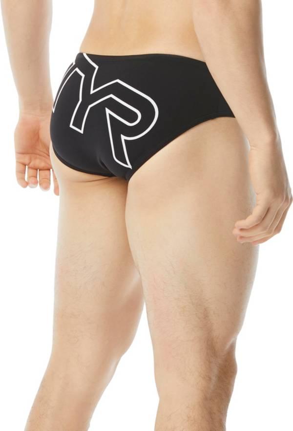 TYR Men's Big Logo Racer Swim Brief product image