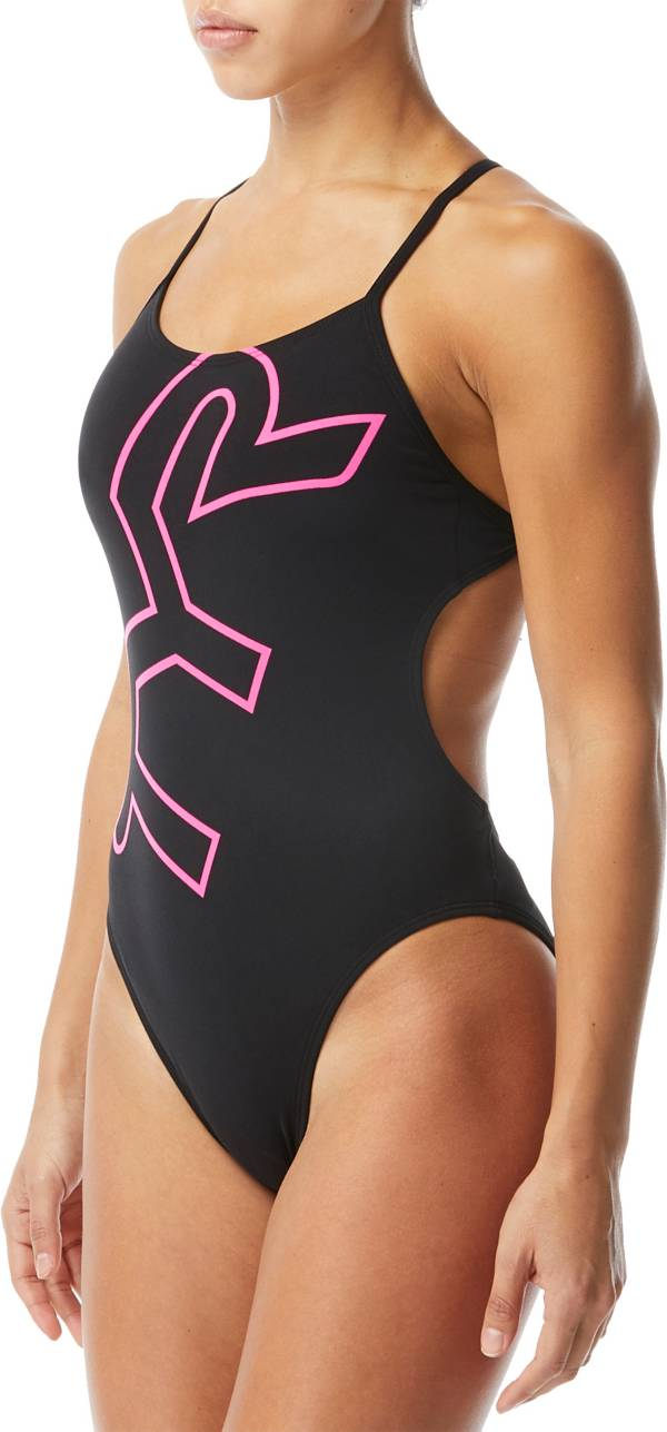 TYR Women's Big Logo Cutoutfit One Piece Swimsuit product image