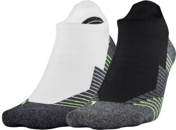 Under Armour Run 2.0 No Show Tab Socks 2-Pack product image