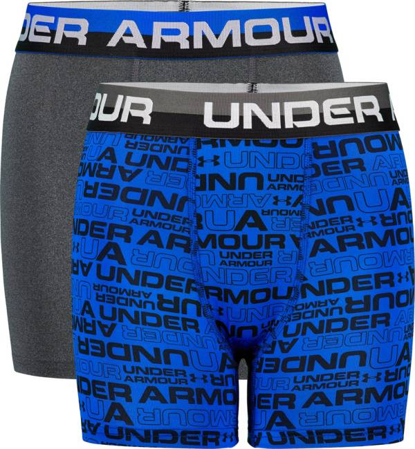 Under Armour Boys' Owrdmark Boxer Briefs – 2 Pack product image