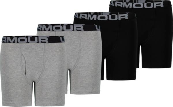 Under Armour Boys' Core Cotton Boxer Briefs – 4 Pack product image