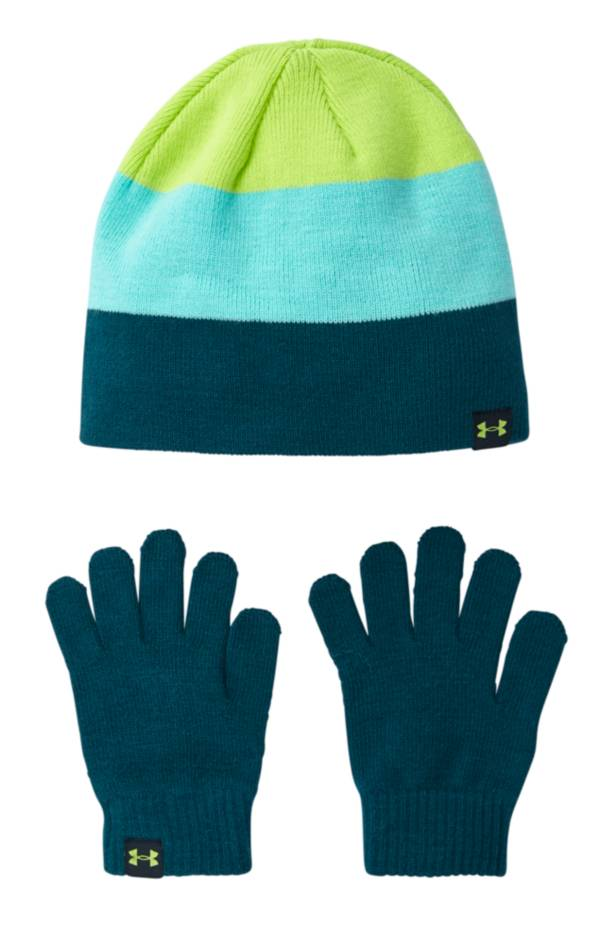 Under Armour Boy's Beanie and Glove Set product image