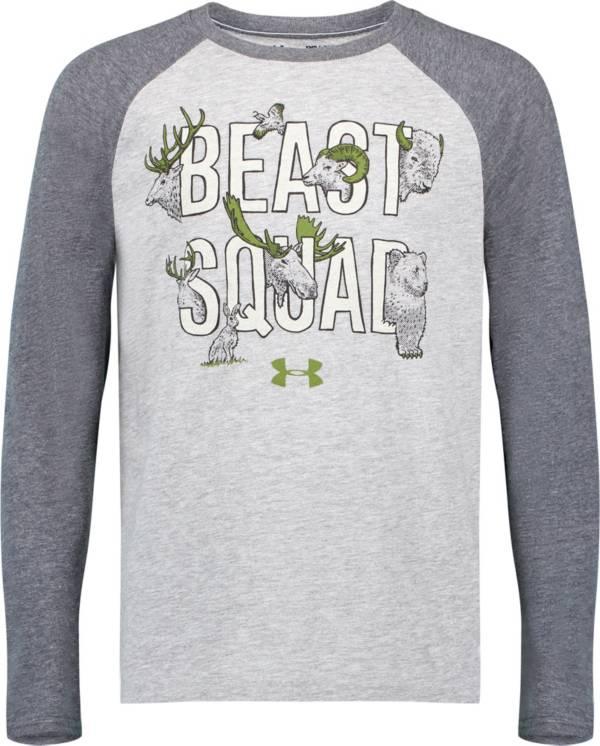 Under Armour Boys' Beast Squad Raglan Long Sleeve T-Shirt product image