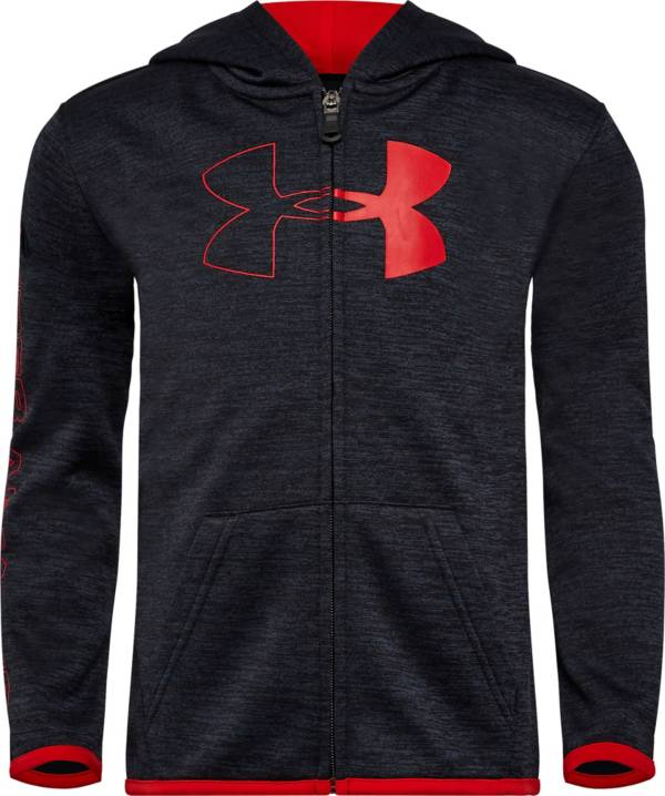 Under Armour Little Boys' Half Icon Full Zip Hoodie product image