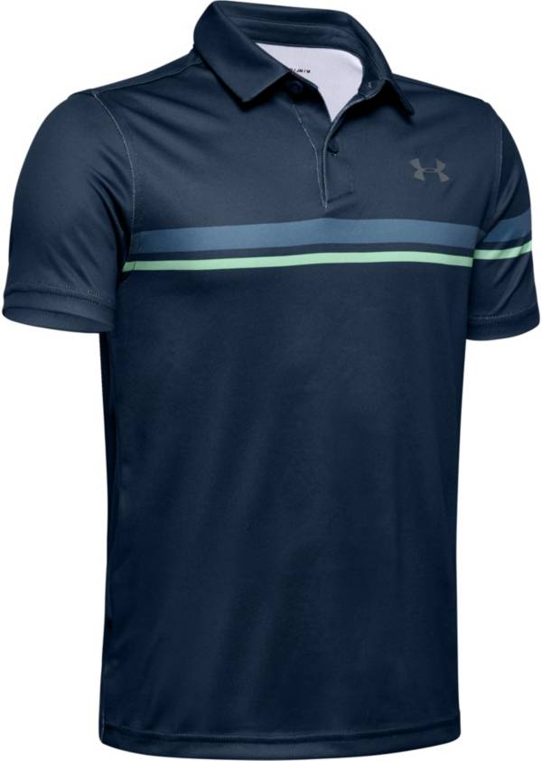 Under Armour Boys' Chest Stripe Vanish Golf Polo product image