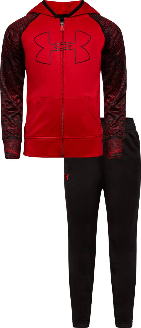 Under Armour Little Boys' Mapped Hoodie and Pants Track Set product image