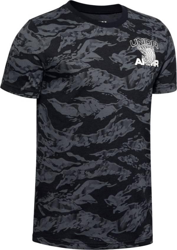 Under Armour Boys' All Over Print Camo Basketball T-Shirt product image