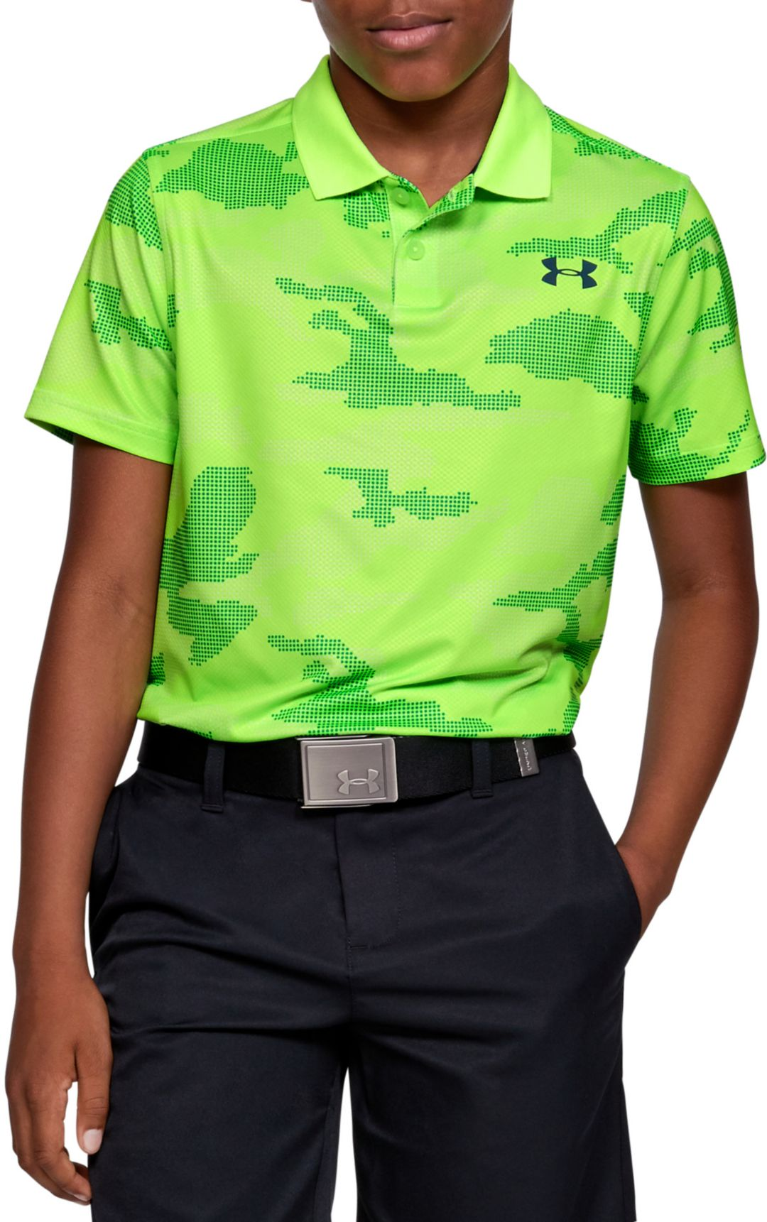 new products clients first fashion Under Armour Boys' Performance 2.0 Camo Golf Polo