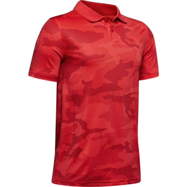 Under Armour Boys' Performance 2.0 Camo Golf Polo product image
