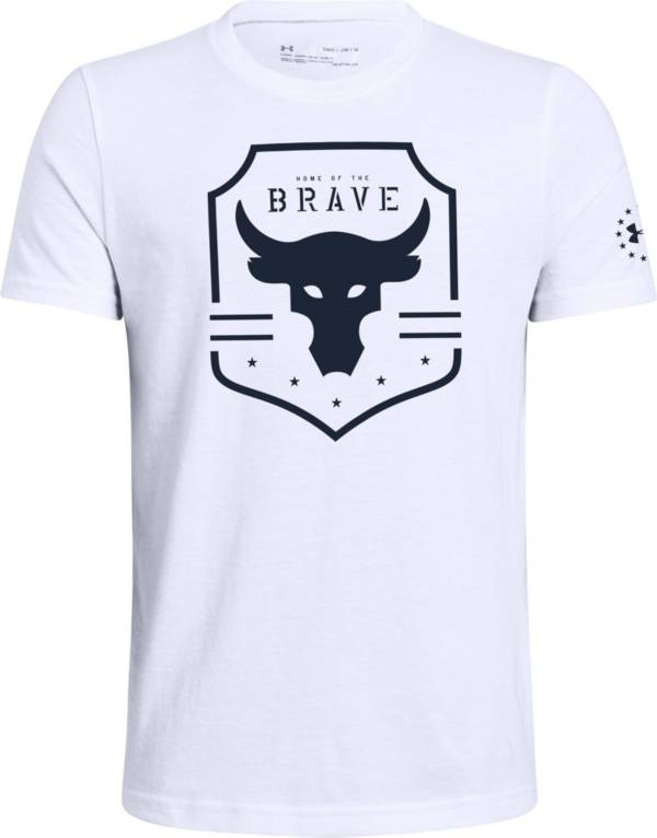 Under Armour Boy's Project Rock Brave T-Shirt product image
