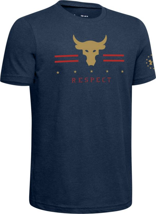 Under Armour Boy's Project Rock Respect T-Shirt product image