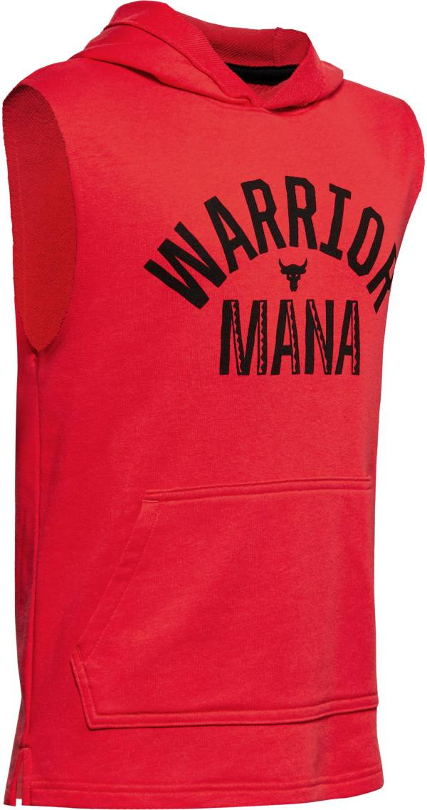 Under Armour Boys' Project Rock Warrior Graphic Sleeveless Hoodie product image