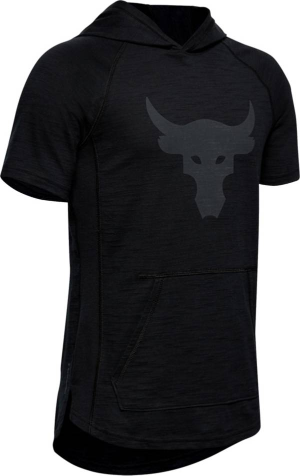 Under Armour Boys' Project Rock Short Sleeve Hoodie product image