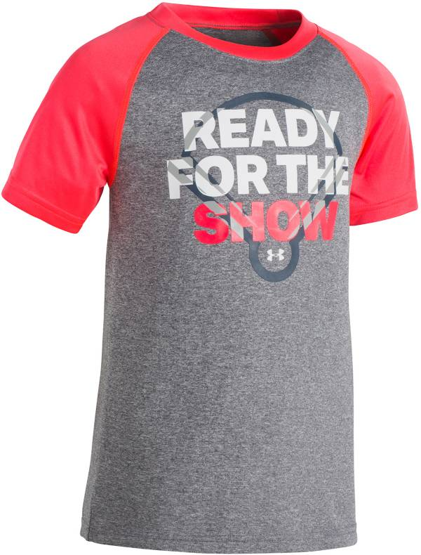 Under Armour Little Boys' Ready For The Show Graphic Baseball T-Shirt product image