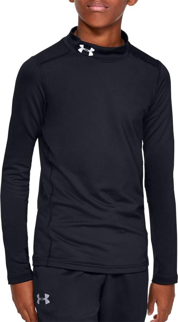 Under Armour Boy's ColdGear Mock Neck Long Sleeve Shirt product image