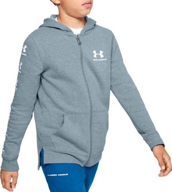 Under Armour Boy's Rival Full Zip Hoodie product image