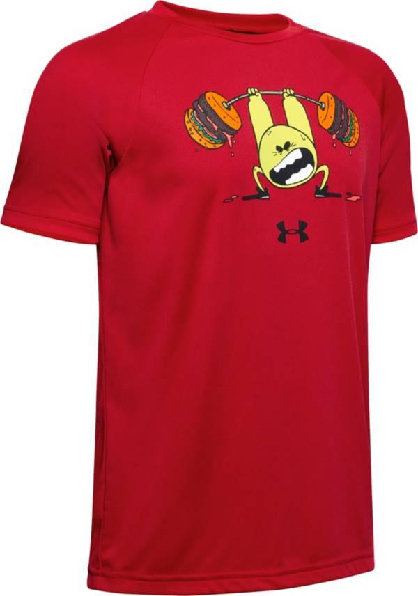 Under Armour Boys' Tech Burger Emoji T-Shirt product image