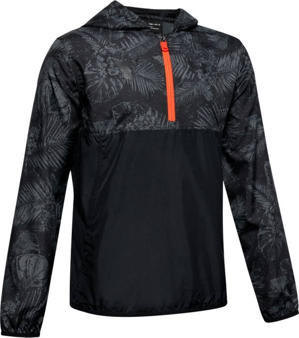 Under Armour Boys' Project Rock Sack Pack 1/2 Zip Jacket product image