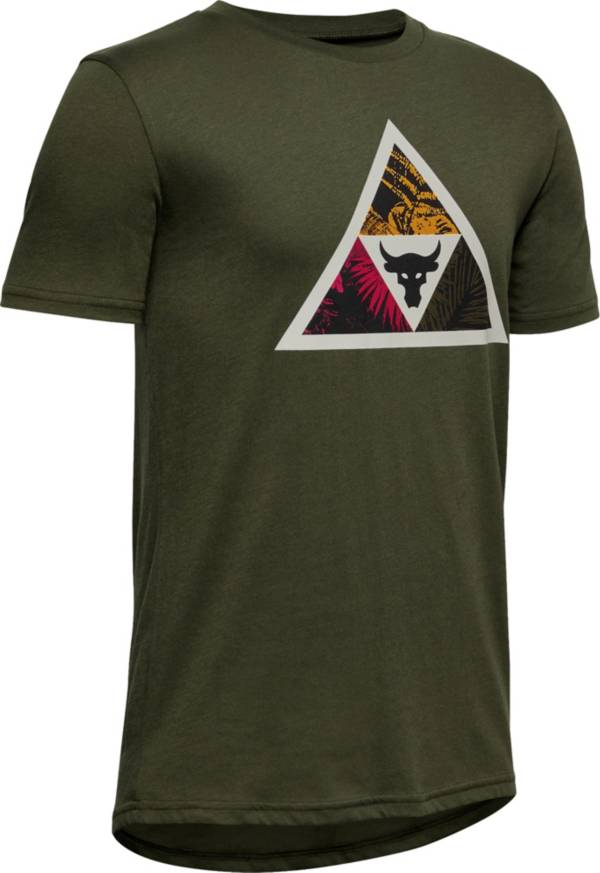 Under Armour Boys' Project Rock Brahma Bull Triangle Graphic T-Shirt product image