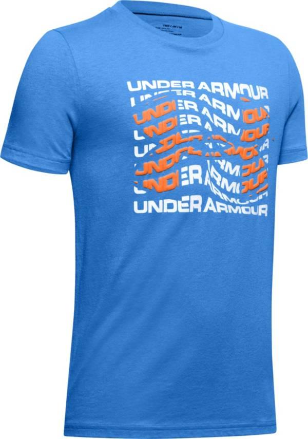 Under Armour Boys' Warped Big Logo T-Shirt product image