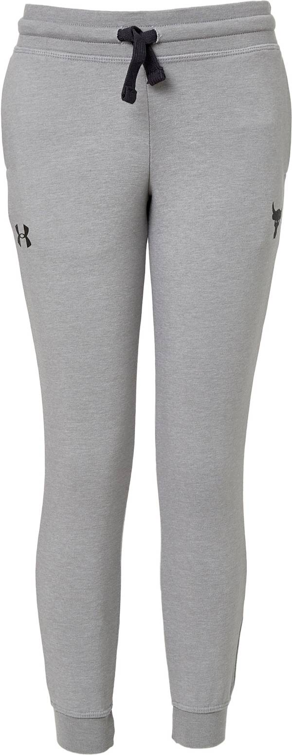 Under Armour Boys' Project Rock Warmup Fleece Pants product image