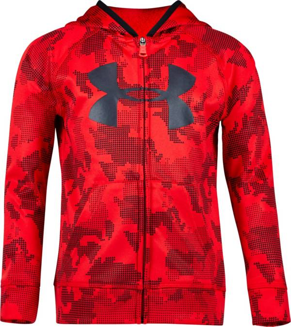 Under Armour Little Boys' Utility Camo Big Logo Full Zip Hoodie product image