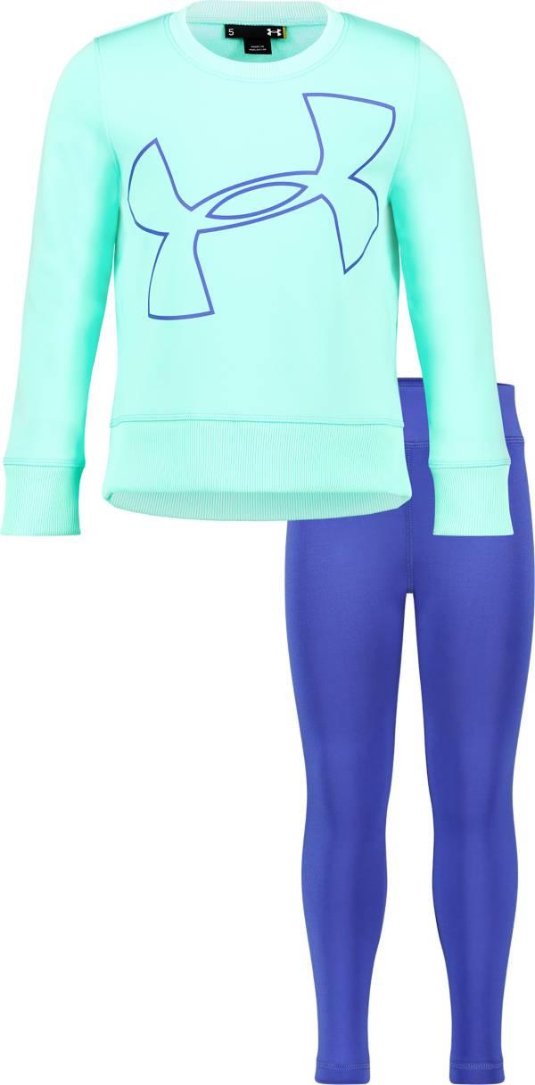 Under Armour Little Girls' Big Logo Tunic and Leggings Set product image