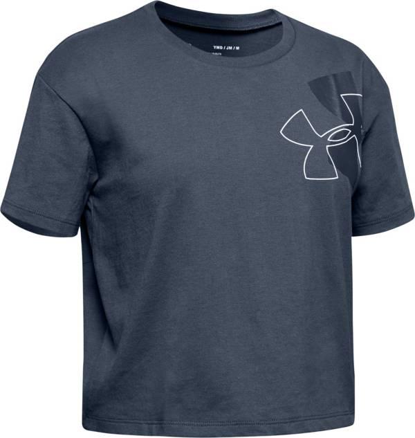 Under Armour Girl's Branded Logo Tilt T-Shirt product image