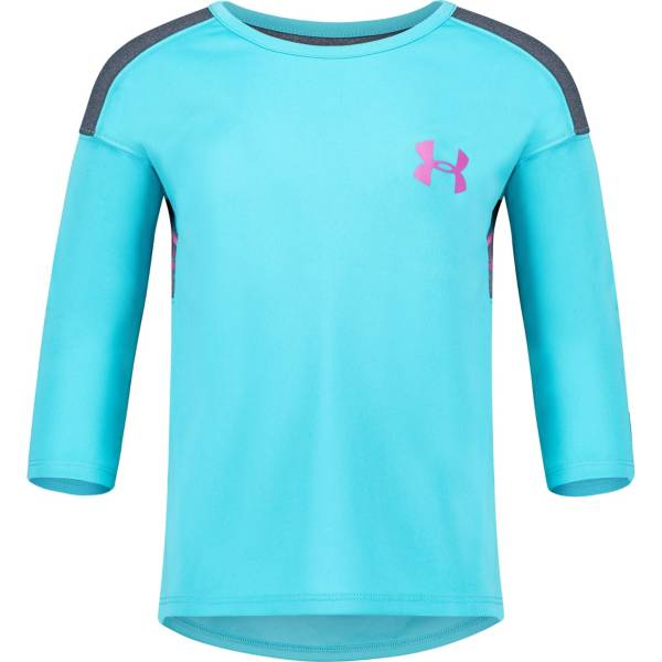 Under Armour Little Girls' Classic Varsity 3/4 Sleeve Shirt product image