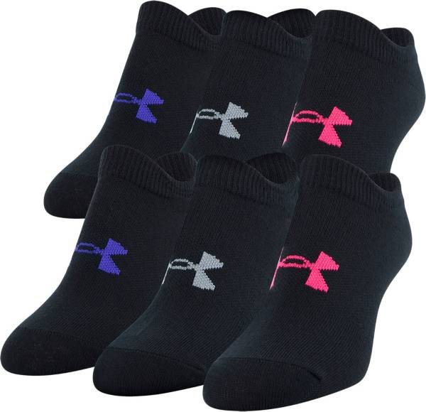Under Armour Girl's Essential Socks - 6 Pack product image