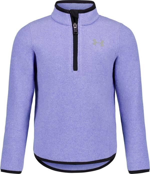 Under Armour Little Girls' Polar Fleece 1/4 Zip Long Sleeve Shirt product image