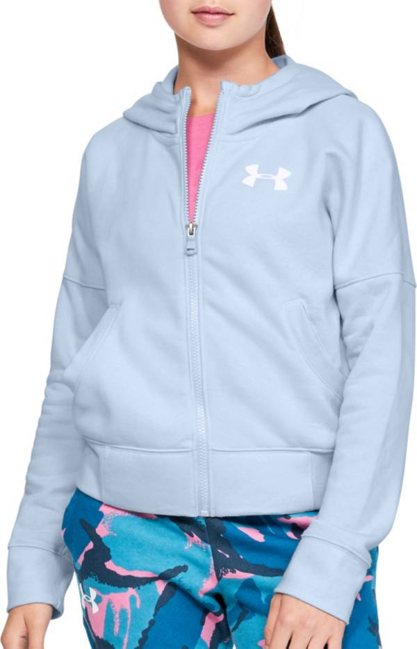 Under Armour Girl's Rival Full Zip Hoodie product image