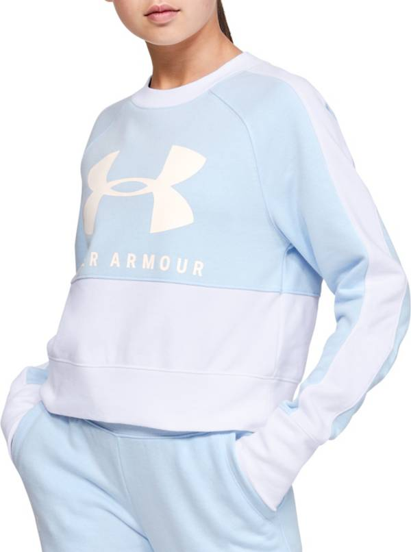 Under Armour Girl's Rival Terry Crewneck Sweatshirt product image