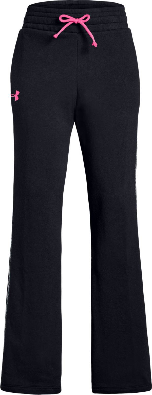 Under Armour Girl's Rival Terry Track Pants product image