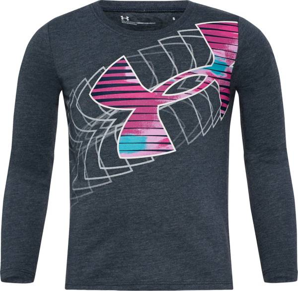 Under Armour Little Girls' Shades Logo Graphic Long Sleeve Shirt product image