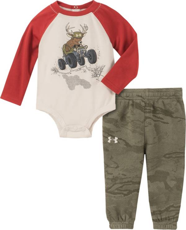 Under Armour Infant Boys' Deer Buggy T-Shirt and Pants Set product image