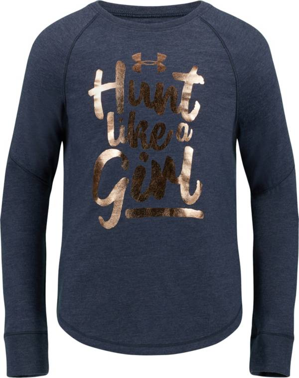 Under Armour Little Girls' Hunt Like a Girl Long Sleeve T-Shirt product image