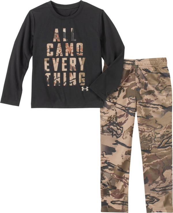 Under Armour Infant Boys' All Camo Everything T-Shirt and Pants Set product image