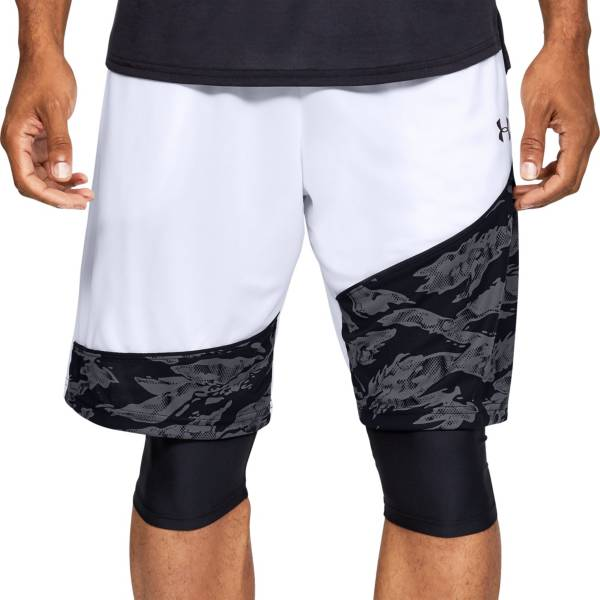Under Armour Men's Baseline 10'' Basketball Shorts (Regular and Big & Tall) product image