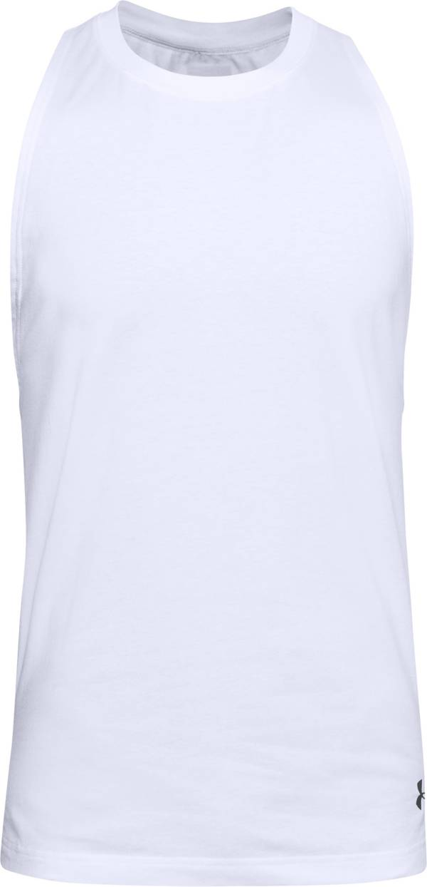 Under Armour Men's Baseline Cotton Basketball Tank Top product image